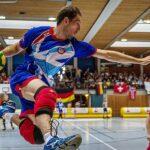 Tchoukball-EM 2014, Vorrundenspiel Deutschland A gegen Grobritannien, Foto: Benedikt Hild