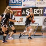 Den ersten Titel haben die Mädchen eingefahren. Sie gewannen das Finale des European Juniors Cup gegen Österreich. (Foto: Susann Fromm)
