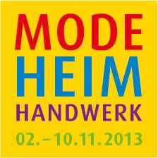 """Logo der Messe """"Mode Heim Handwerk"""""""