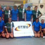 In der Essener Messehalle 6 präsentierten Tchoukballer vom TC Essen und vom TuS Oeckinghausen ihre Sportart.
