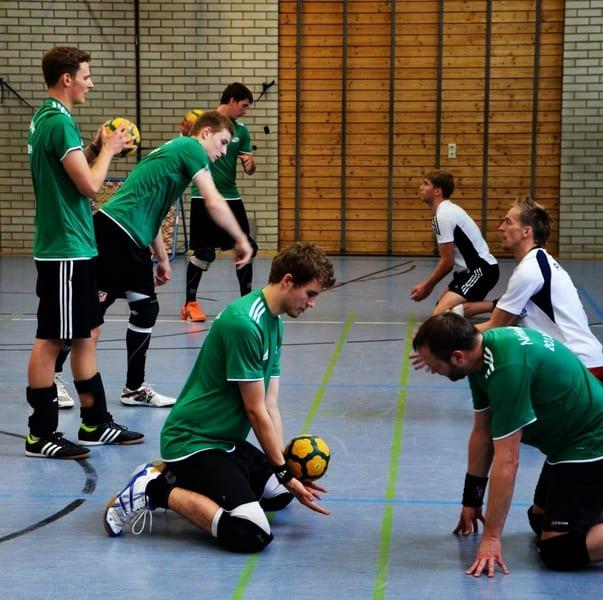 Deutschlands Männer bereiten sich auf die Europameisterschaft 2014 vor.