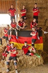 Deutschlands A-Nationalmannschaft der Männer (Foto: Lara Diederich)
