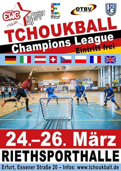 Das Plakat zum Turnier / The poster for the tournament