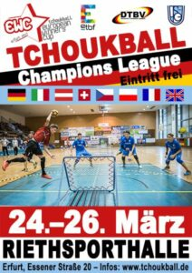 Das Plakat zum European Winners' Cup 2017.