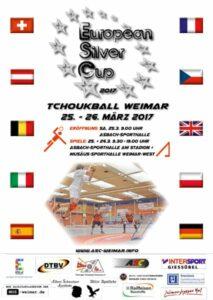 Das Plakat zum European Silver Cup 2017.