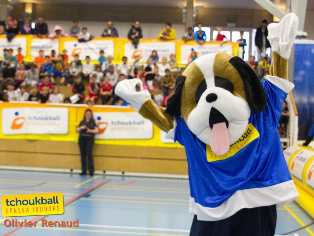 Die Geneva Indoors begeistern das Publikum nicht nur mit hochklassigem Tchoukball. (Foto: Olivier Renaud)
