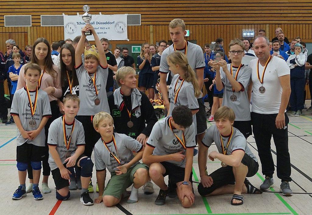 Deutscher Meister der U15: ASC Weimar. (Foto: TBH Düsseldorf)
