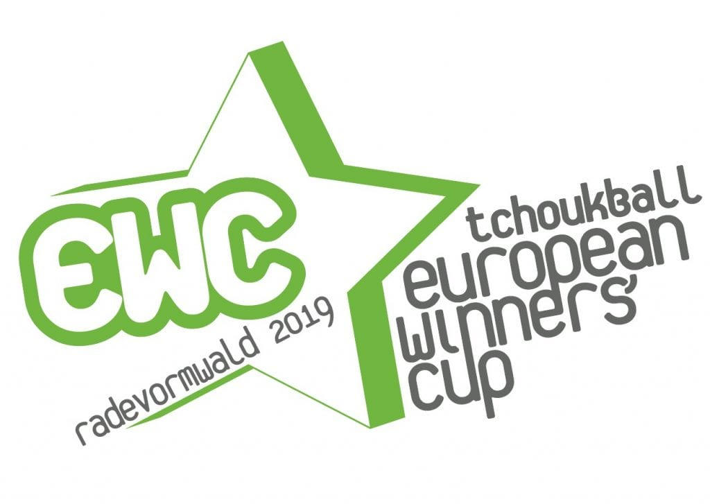 Das Logo des European Winners' Cup 2019 in Radevormwald.