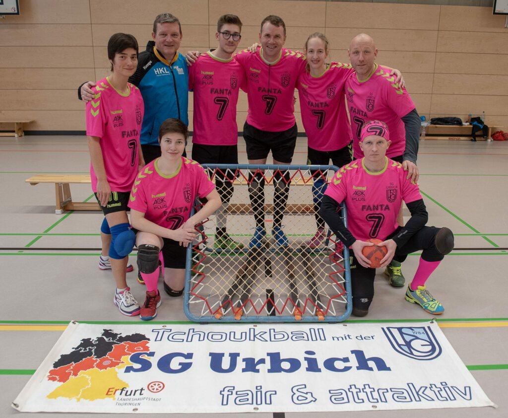 Das Team der SG Urbich freut sich auf seine Premiere beim European Silver Cup in Italien. (Foto: Joachim Fromm)