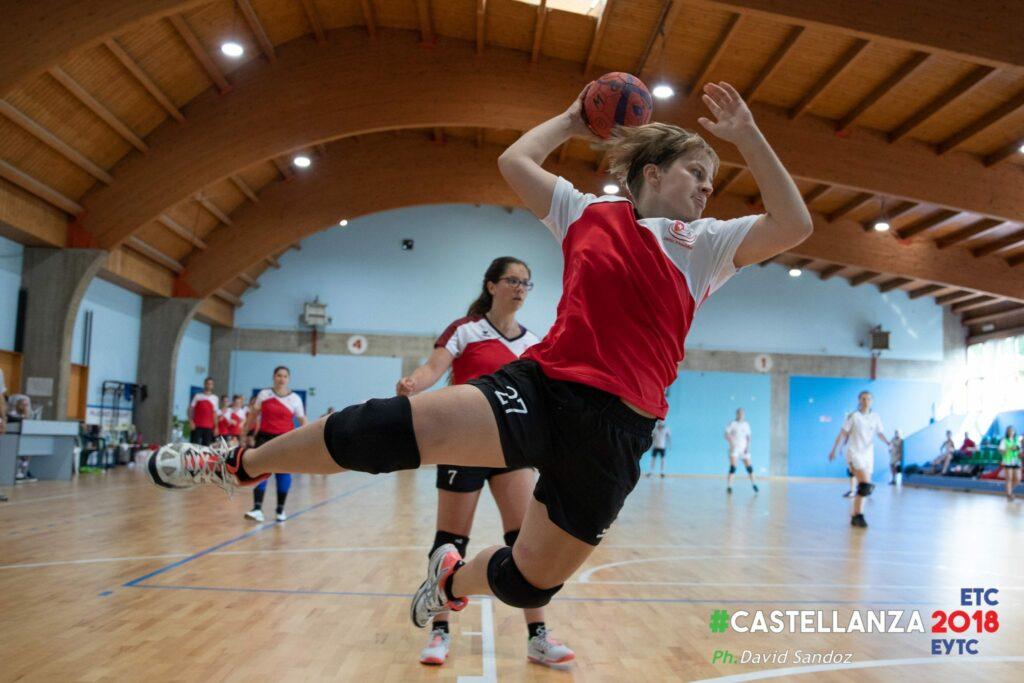 Auch im Angriff spielt Nanguita Antonioli ihre Stärken aus. (Foto: David Sandoz)