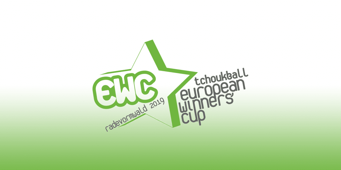 Logo of the Tchoukball European Winners' Cup 2019