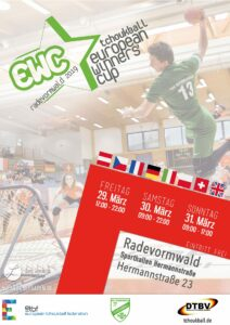 Plakat EWC 2019 Radevormwald (Rechte: TuS Oeckinghausen)